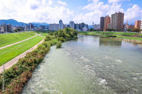 Fotografering  札幌 豊平川 河川敷