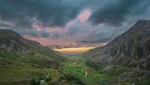 Beautiful Dramatic Landscape I...