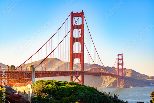 Spoed Fotobehang Bruggen Golden Gate Bridge