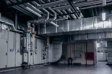 Modern Industrial Interior Of ...