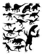 Dinosaur Ancient Animal Silhou...