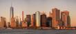 sunset new york city wtc one