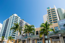 Miami Beach Street Buildings A...