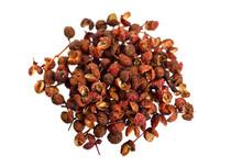 Sichuan Pepper, Sichuan Peppercorn, Szechuan Pepper Or Szechuan Peppercorn Isolated On White Background
