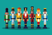 Nutcracker Toy Icon
