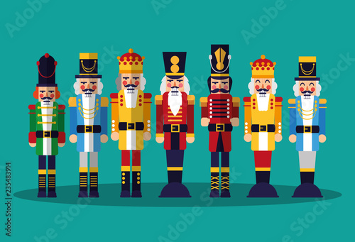 Fotografía nutcracker toy icon