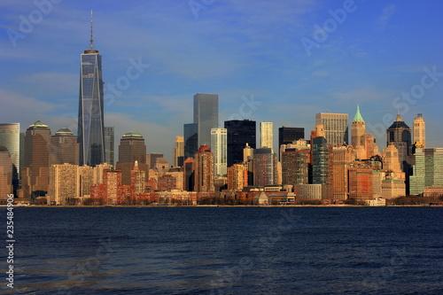 Fotografering  New York City Skyline