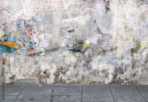 Fond mur grunge Fototapeta