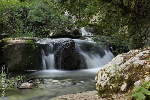 Foto auf Gartenposter Forest river Kampanien, Cilento: Oasi WWF Morigerati