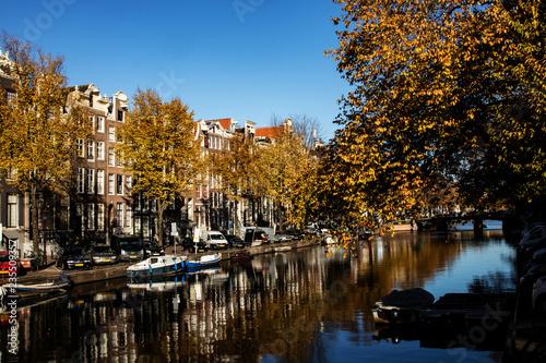 Photo  Amsterdam im Herbst