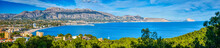 A Panoramic View Of Altea And ...