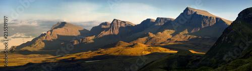 Leinwand Poster Trotternish ridge panorama