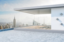 Creative Rooftop With NY View