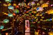 Leinwanddruck Bild - Turkish store of lamps and chandeliers