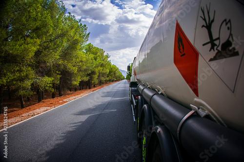 Fotografía  Camion cisterna