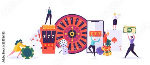 Fotografía  Casino and Gambling Concept