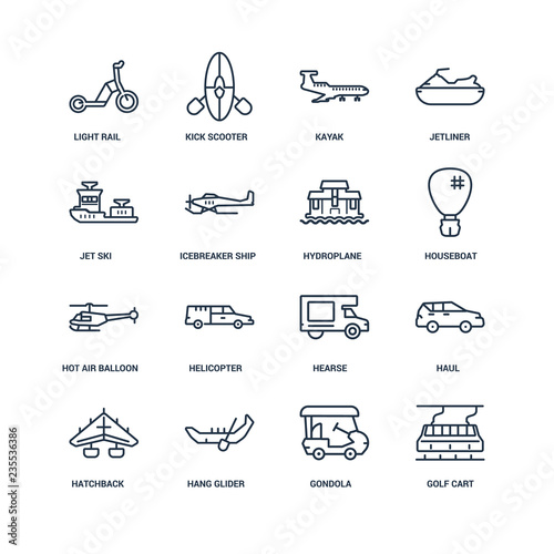 Fotografie, Obraz  Golf cart, gondola, hang glider, hatchback, haul, light rail, Je