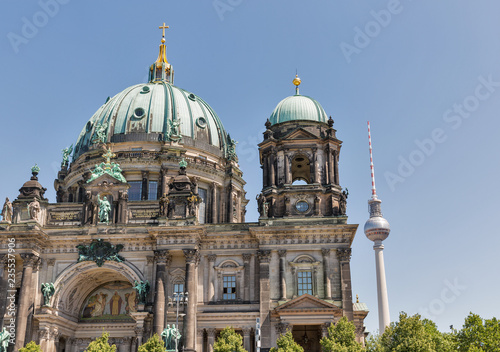 Cathedral Berliner Dom on Museum Island in Berlin, Germany.