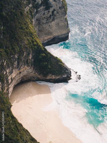 Foto op Aluminium Bali Bali Beach (Kelingking Beach)