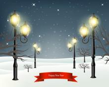Christmas Evening Winter Lands...