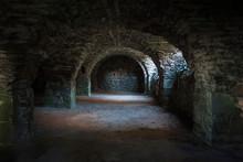Burgruine Kerker Kellergewölbe