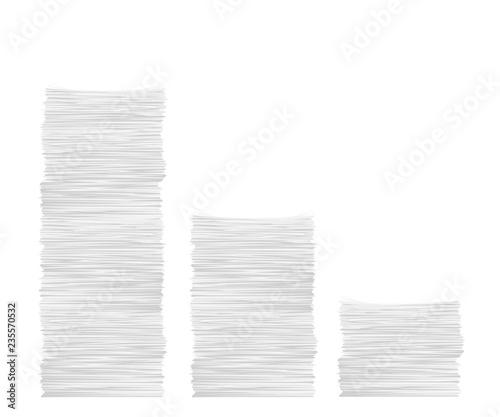 Stampa su Tela paper stack set