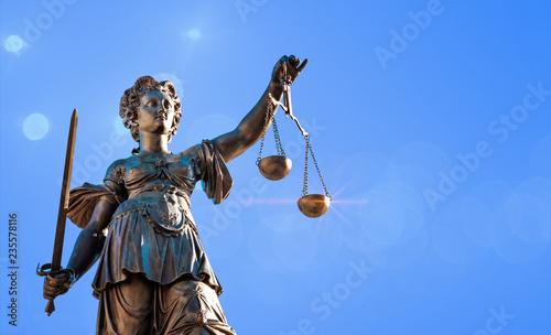 Obraz na płótnie Justice