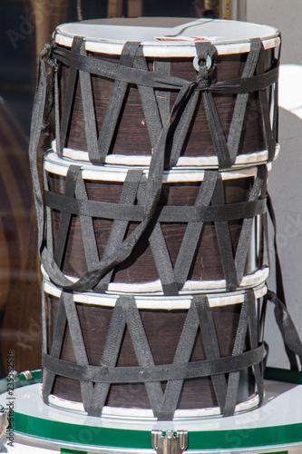 Fotografie, Obraz  Traditional  drums as an musicak instrument in  market