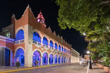 Mexico, Merida, Nacht