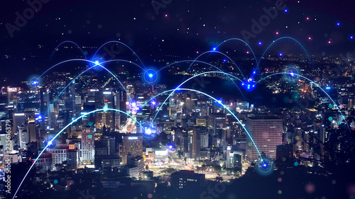 Fotomural  모바일 네트워크 데이터 전송