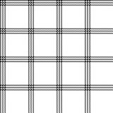 White black striped pixel seamless pattern - 235620943