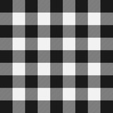 Lumberjack plaid pattern. Template white and black lumberjack. - 235630381