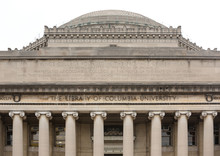 The Lifrary Of Columbia University In NYC