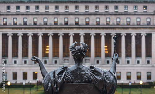 Photo Alma Mater of Columbia University, New York City, USA