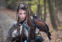Beautiful Viking Warrior Woman...