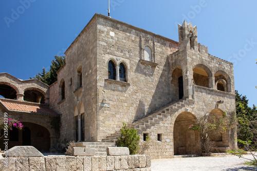Foto  byzantinisches Kloster auf dem Filerimos