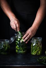 Sour Cucumber Pickles Gherkins...