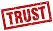 square grunge red trust stamp