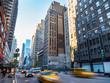 ニューヨーク マンハッタンの朝