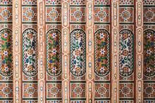 Ceiling Art Geometrically Pain...