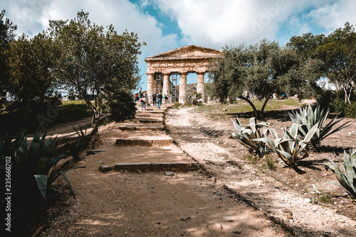Fotografie, Obraz  Temple of Segesta