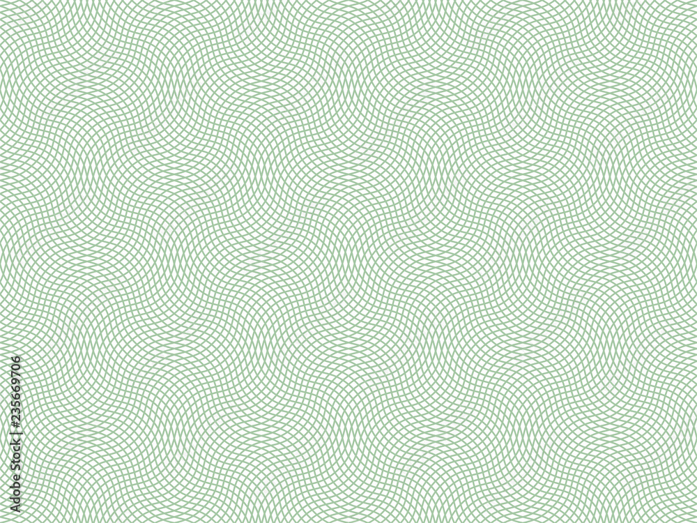 Fototapety, obrazy: Vector certificate texture. Seamless geometric banknote pattern.