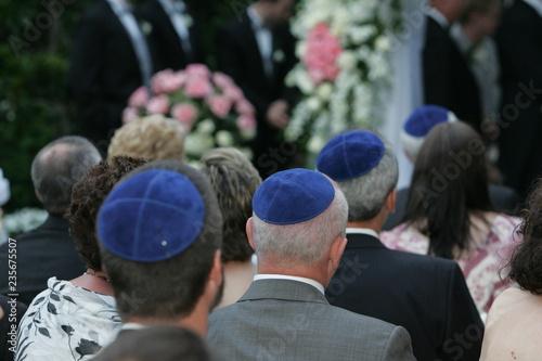 Fotografie, Tablou kippah wedding Skullcap