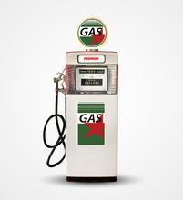 Old Vintage Gasoline Petrol Pu...