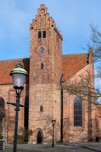 Photo  Greyfriars Abbey in Ystad, Sweeden