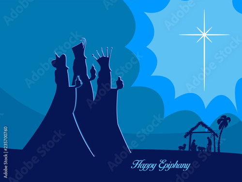 Epiphany (Epiphany is a Christian festival) Wallpaper Mural