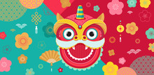 Chinese New Year Background, G...