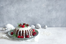 Christmas Pudding, Fruit Cake