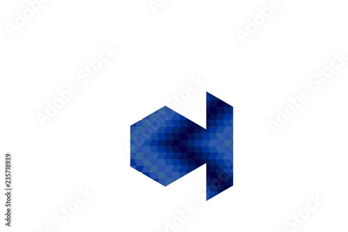 Letter C Negative Space Logo Designs Inspiration Isolated On White