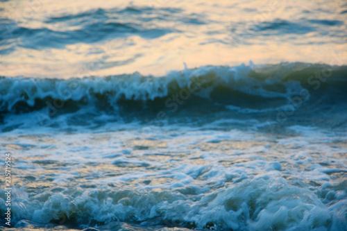 Foto auf Gartenposter Wasser The texture of the waves